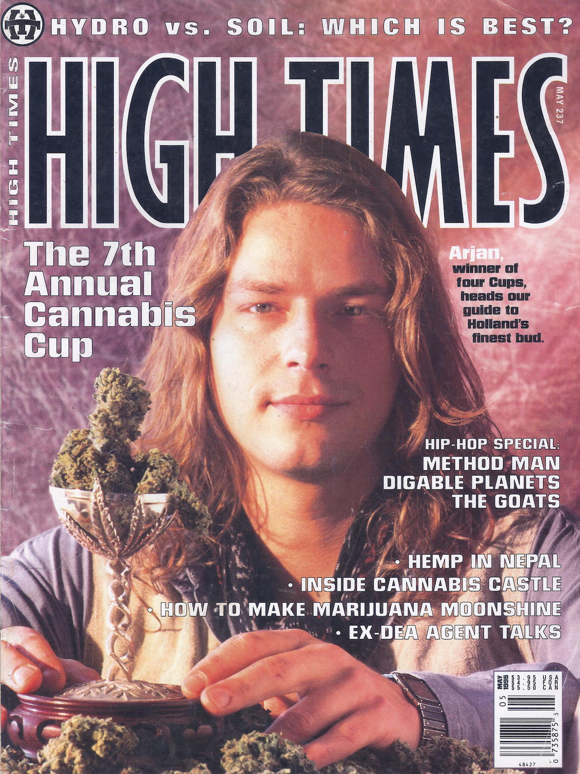 Arjan Roskam - Cover High Times Magazine