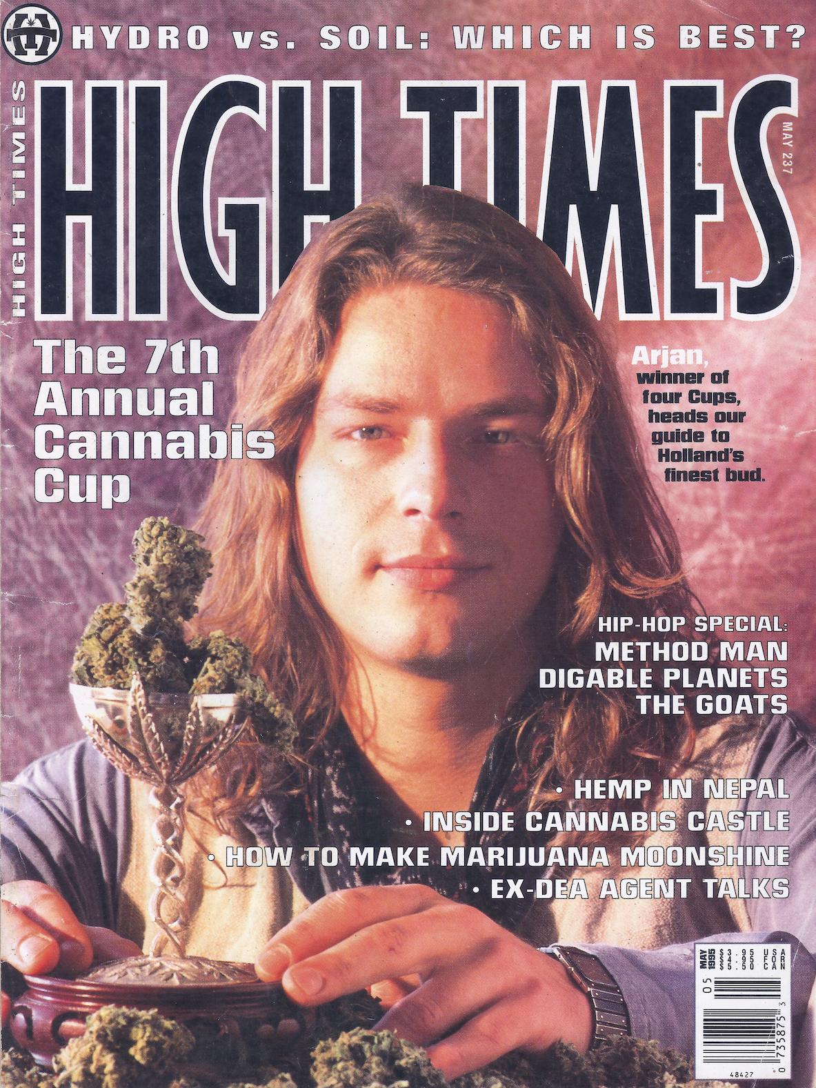 Arjan Roskam - Cover High Times Magazine