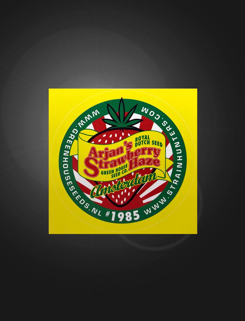 Arjan's Strawberry Haze   Sticker