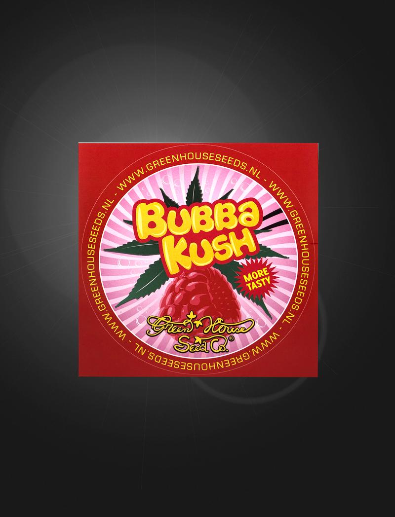 Bubba Kush   Sticker