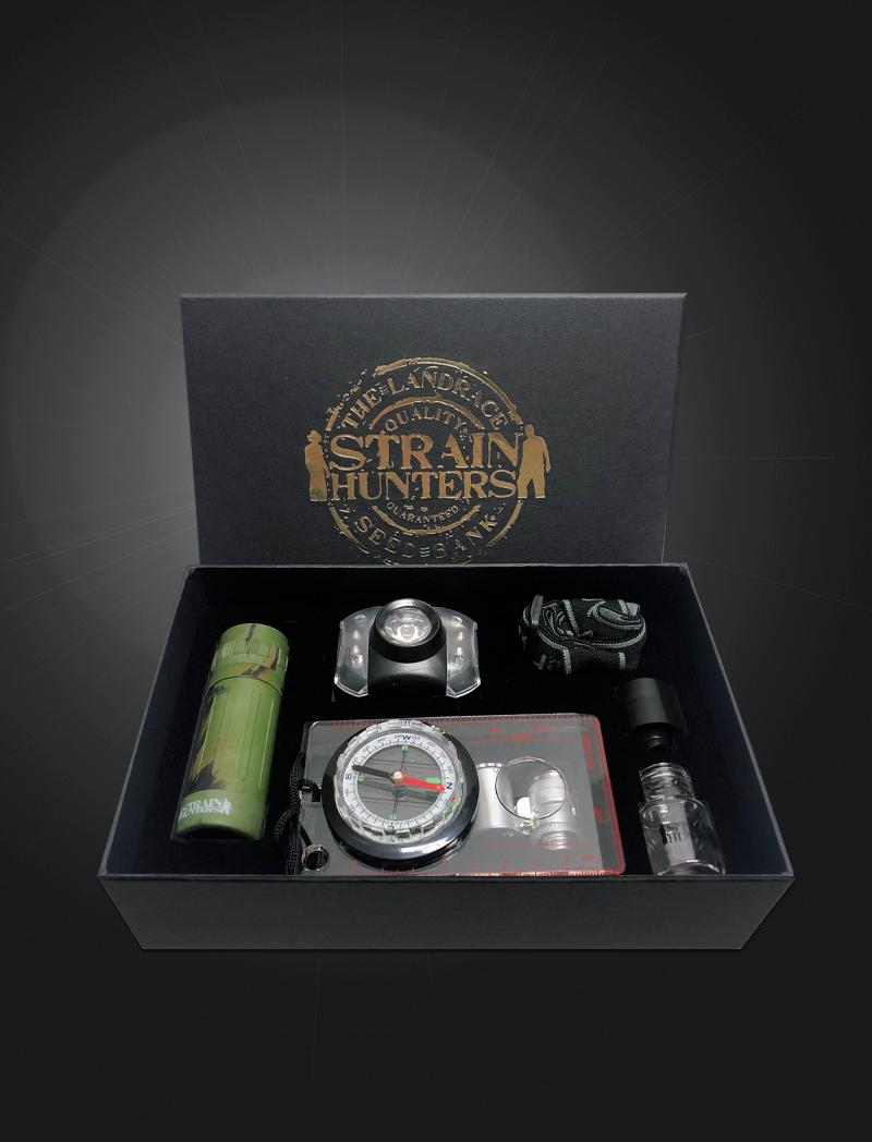 Strain Hunters Seed Bank Adventure Kit