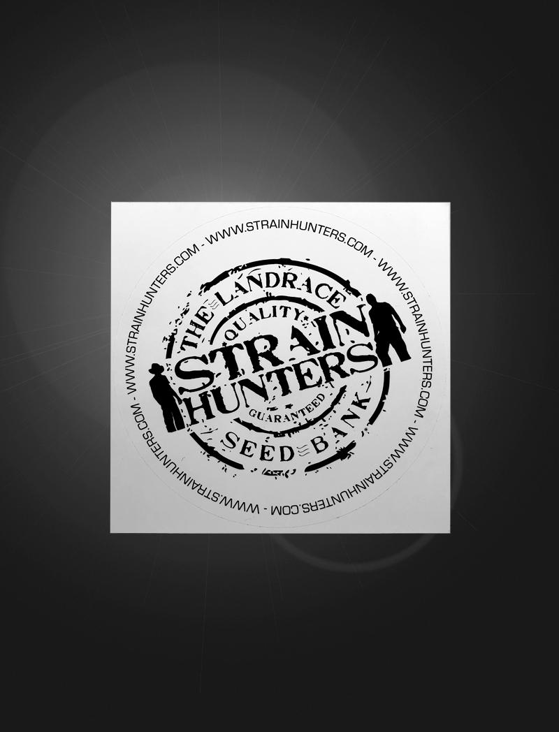 Strain Hunters Seed Bank | Sticker
