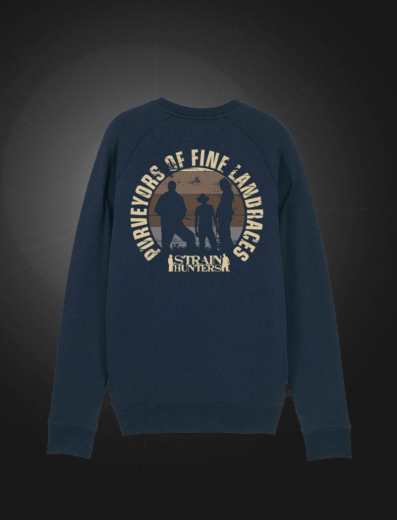 Strainhunters Crew Sweater Navy
