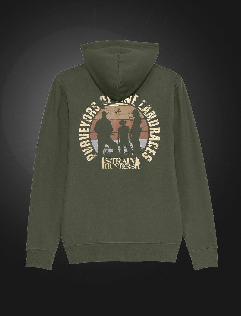 Strainhunters Hoodie Army