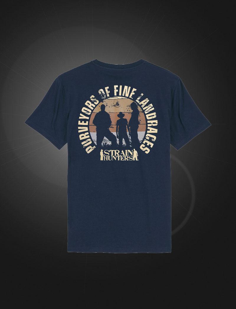 SH T-shirt Navy back
