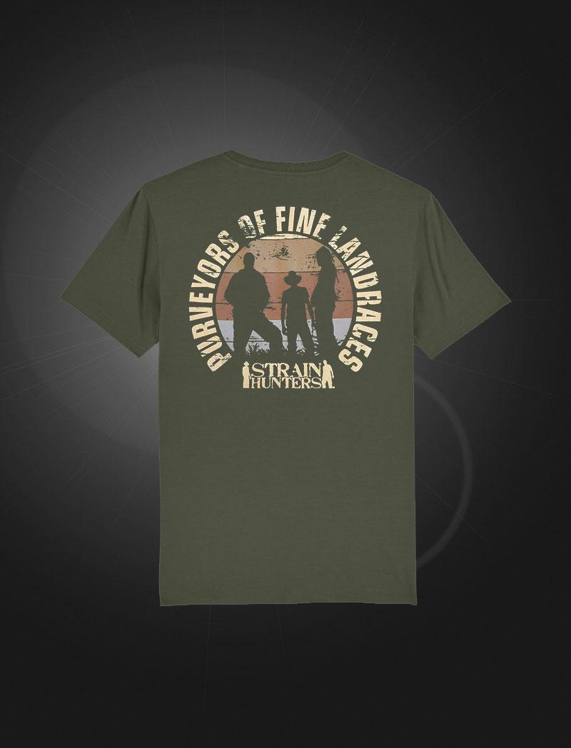 Strainhunters T-shirt Army