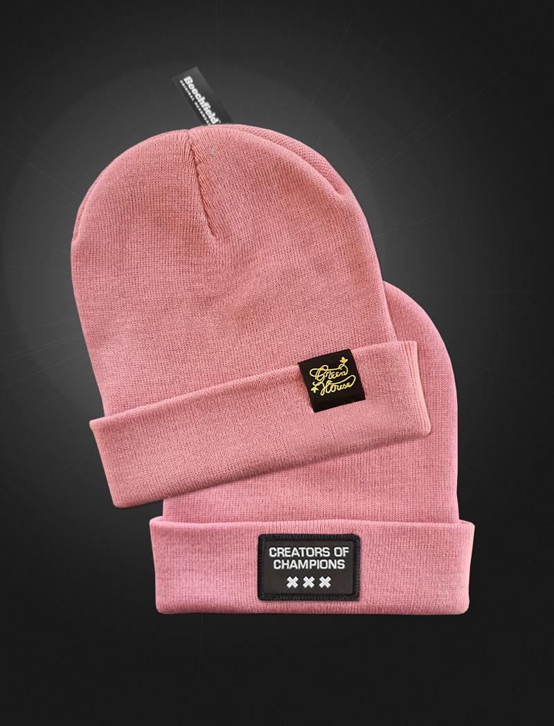 Creators of Champions Beanie Pink