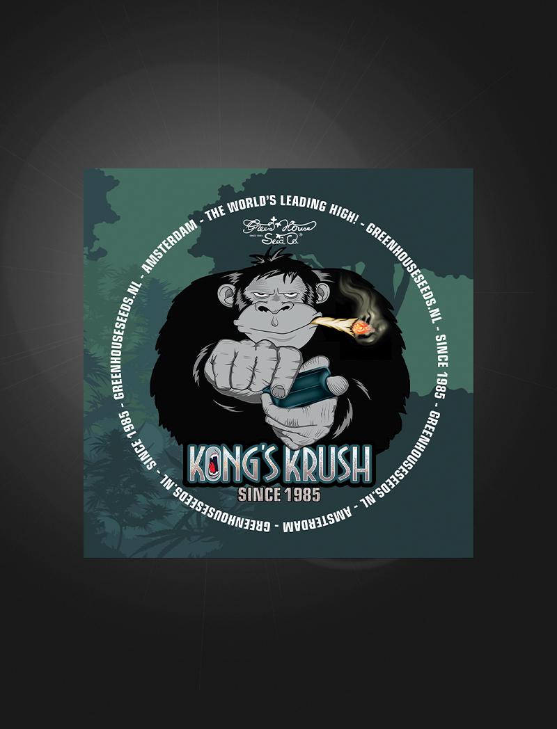 Kong's Krush   Sticker