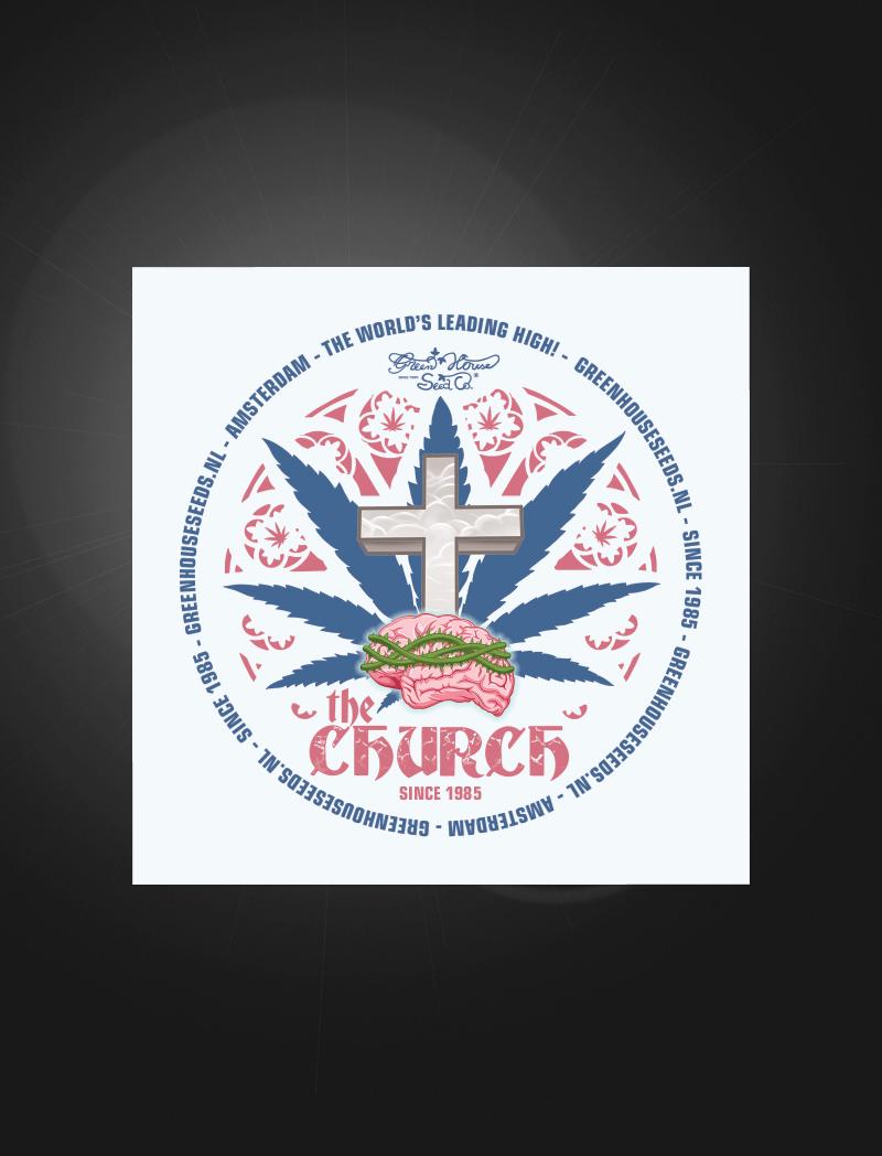 The Church   Sticker