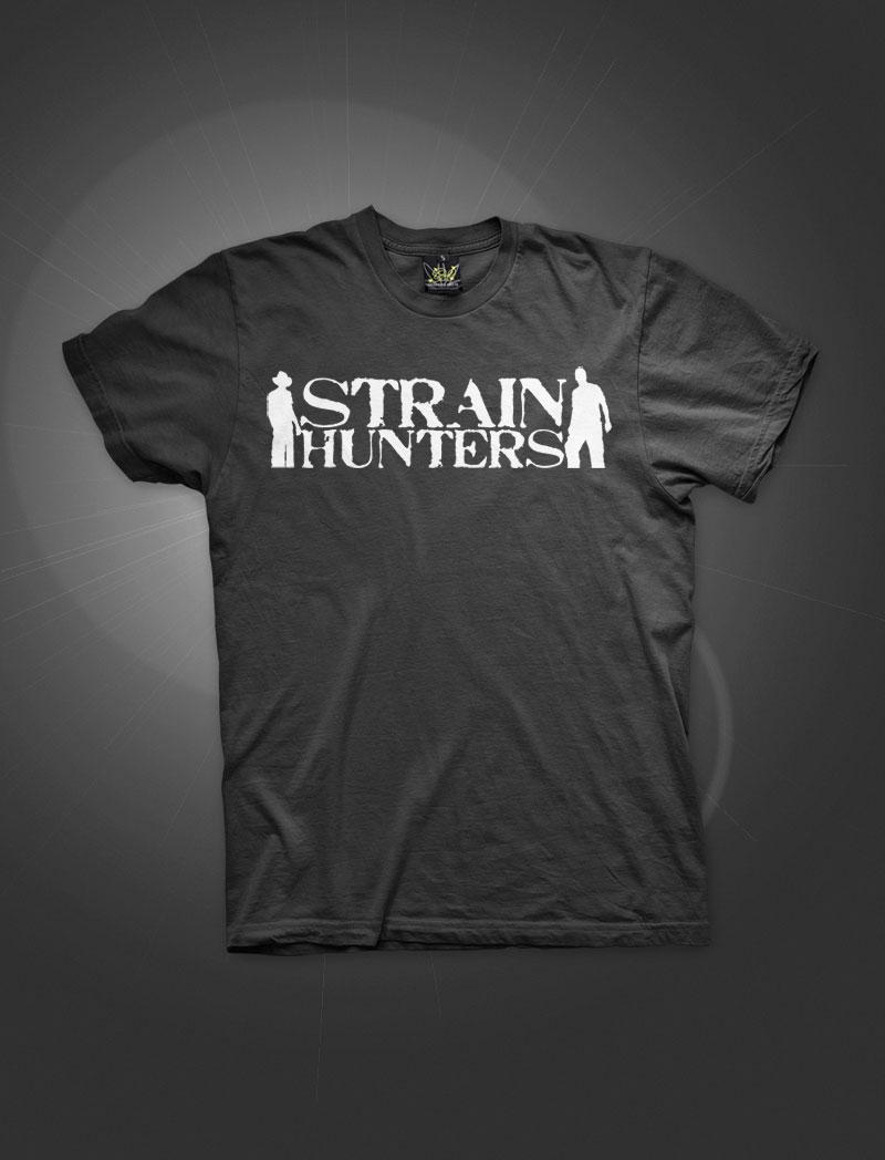Strain Hunters Logo | Black