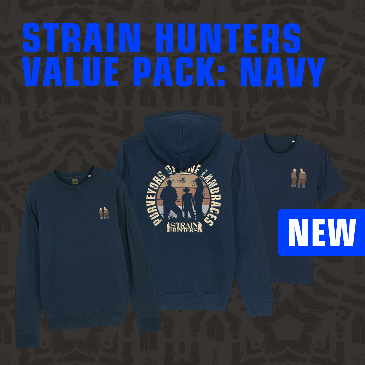 Strain Hunters Value Pack Navy