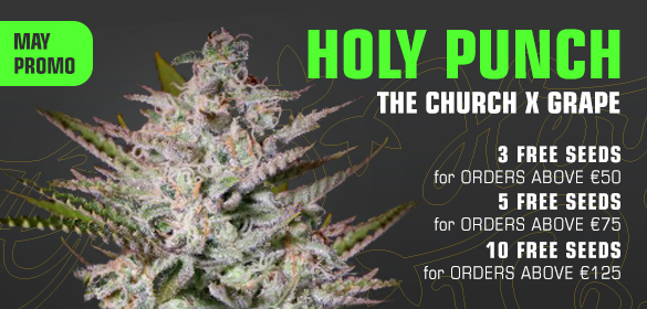Green House Seeds May Promo
