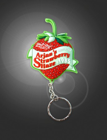 Arjan's Strawberry Haze keychain
