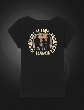 SH Female T-shirt Black back