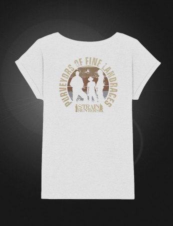 SH Female T-shirt White back