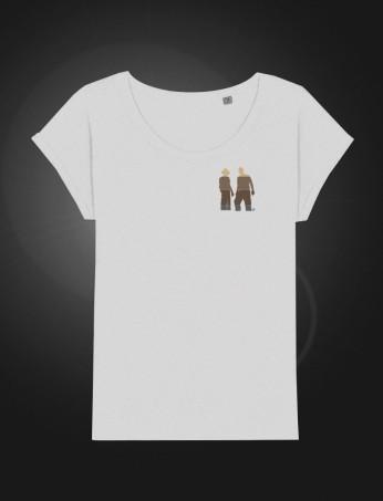 SH Female T-shirt White front