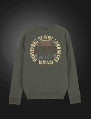 ​Strainhunters Crew Sweater Army