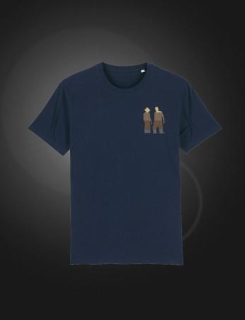 SH T-shirt Navy front