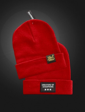 Creators of Champions Beanie Red