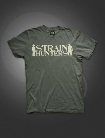 Strain Hunters Logo | Army Green